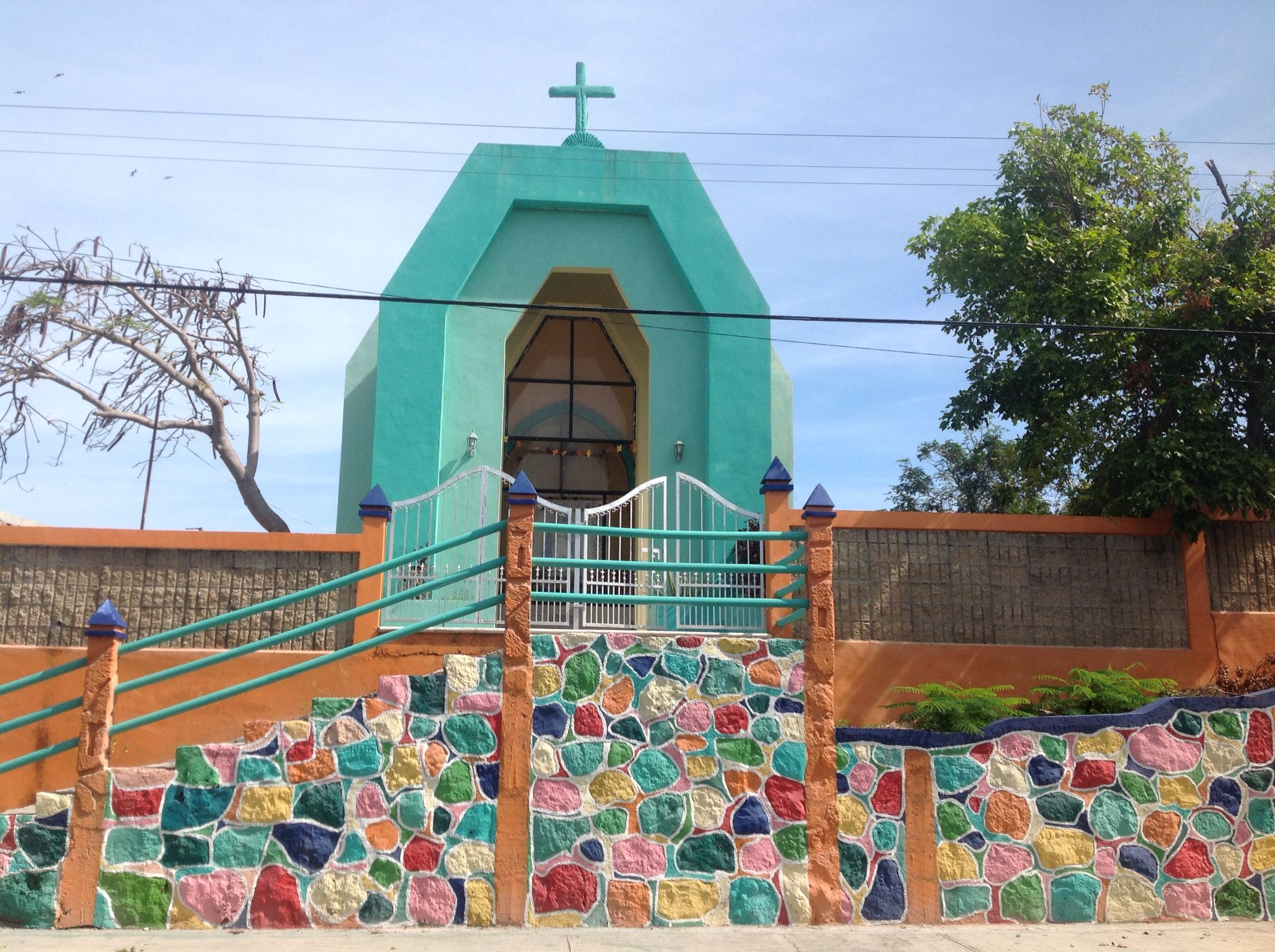 Colorful church