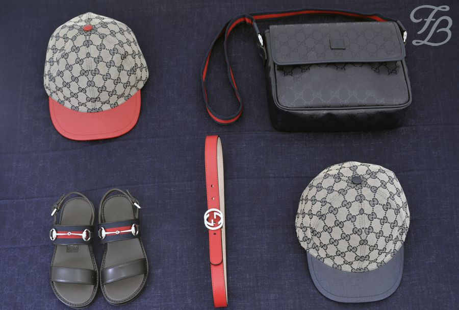 It is all about the right ACCESSORIES!!! <3  Team up your outfit with this gorgeous Gucci belt, a cute cap in red or blue and wear these beautiful leather sandals together with the matching bag.