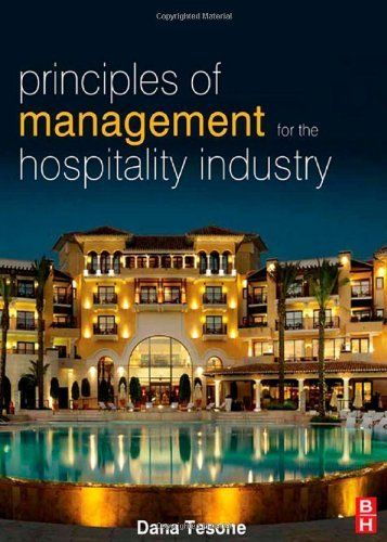 Principles of Management for the Hospitality Industry (The