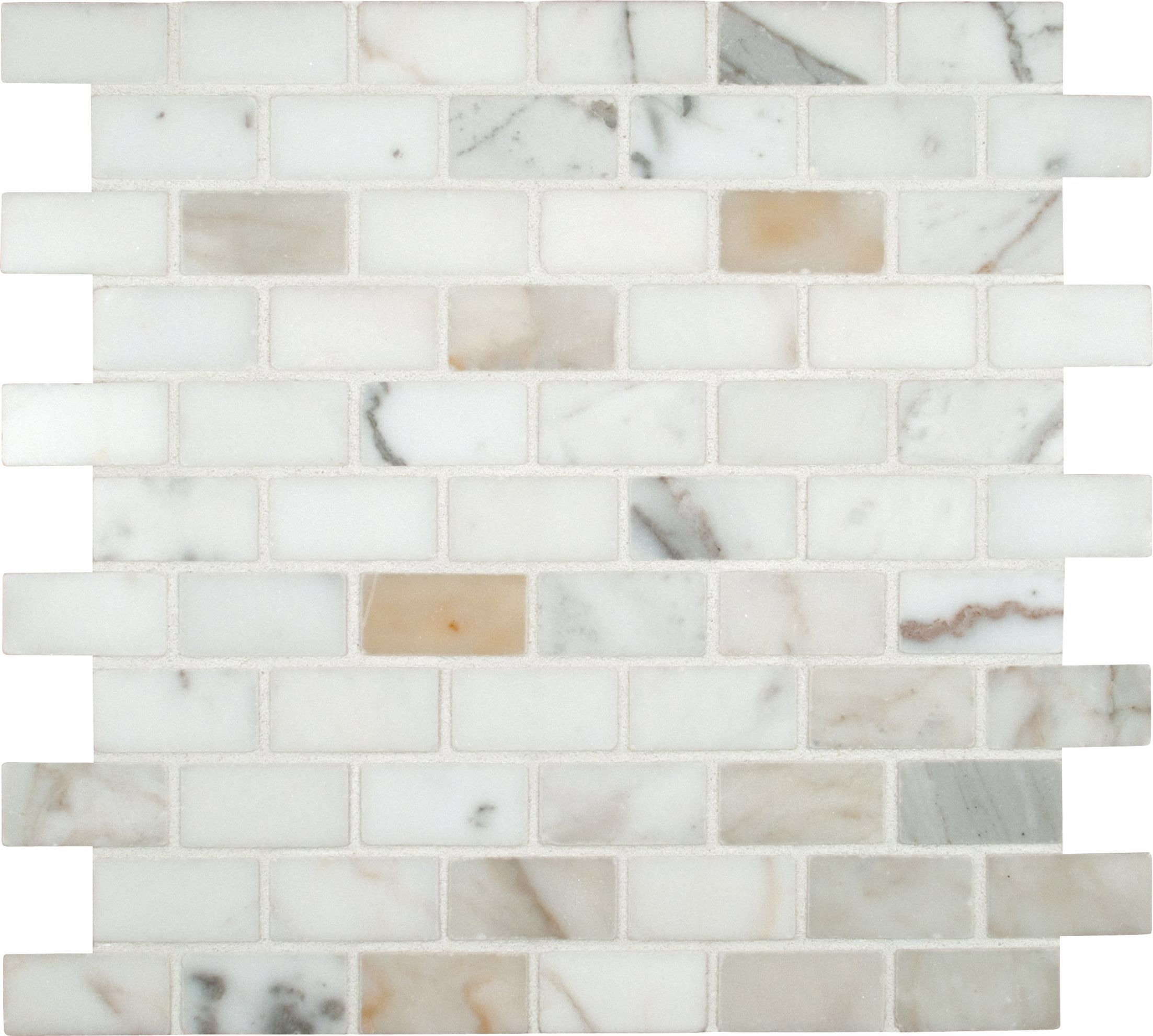 Calacatta gold mounted 1 x 2 marble subway tile in white calacatta gold mounted 1 x 2 marble subway tile dailygadgetfo Images