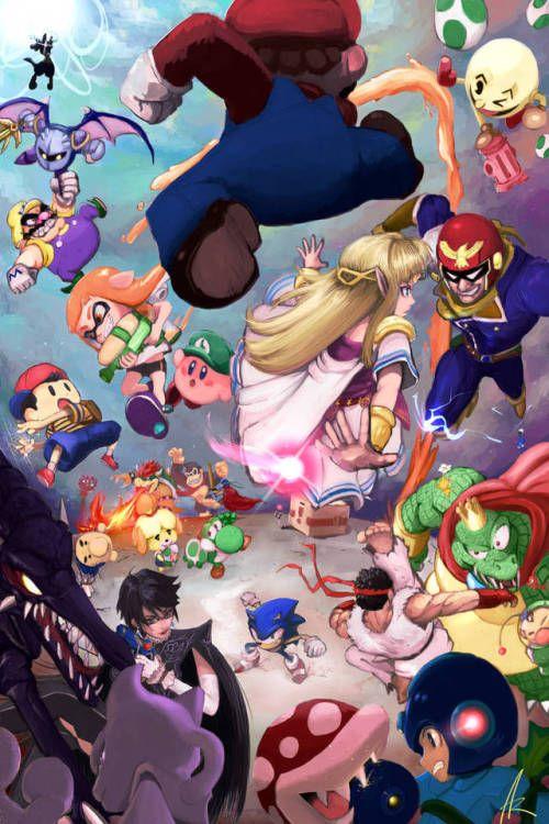 Todos Contra Todos Videojuegos Wallpaper Personajes De Videojuegos Dibujos De Juegos