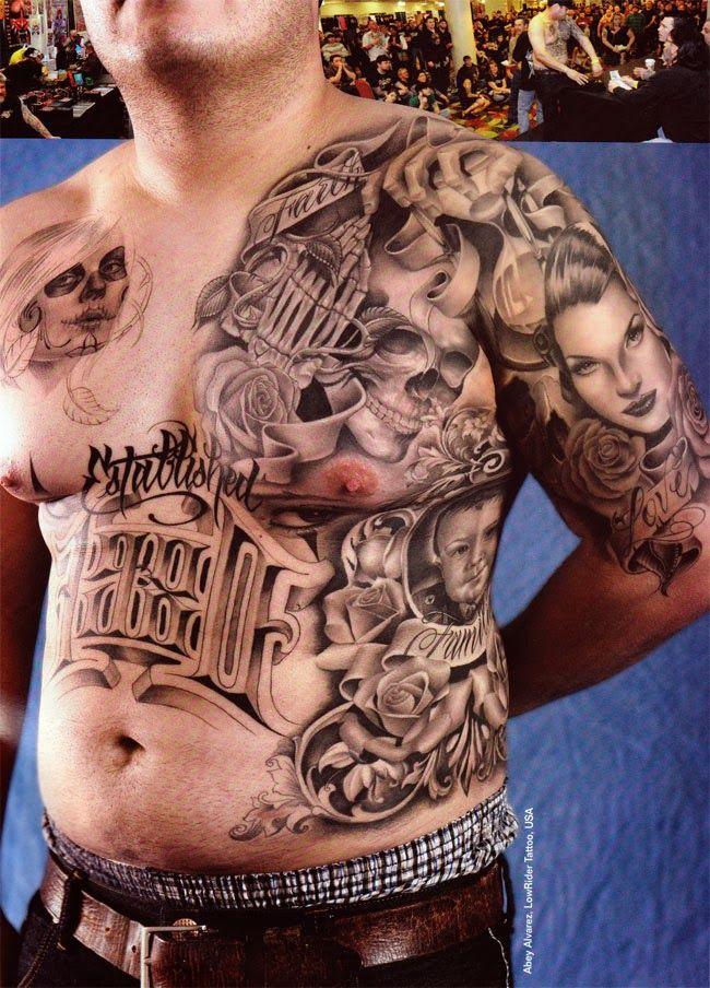 Urban Tattoo Designs For Men Black And Grey Tattoos For Men