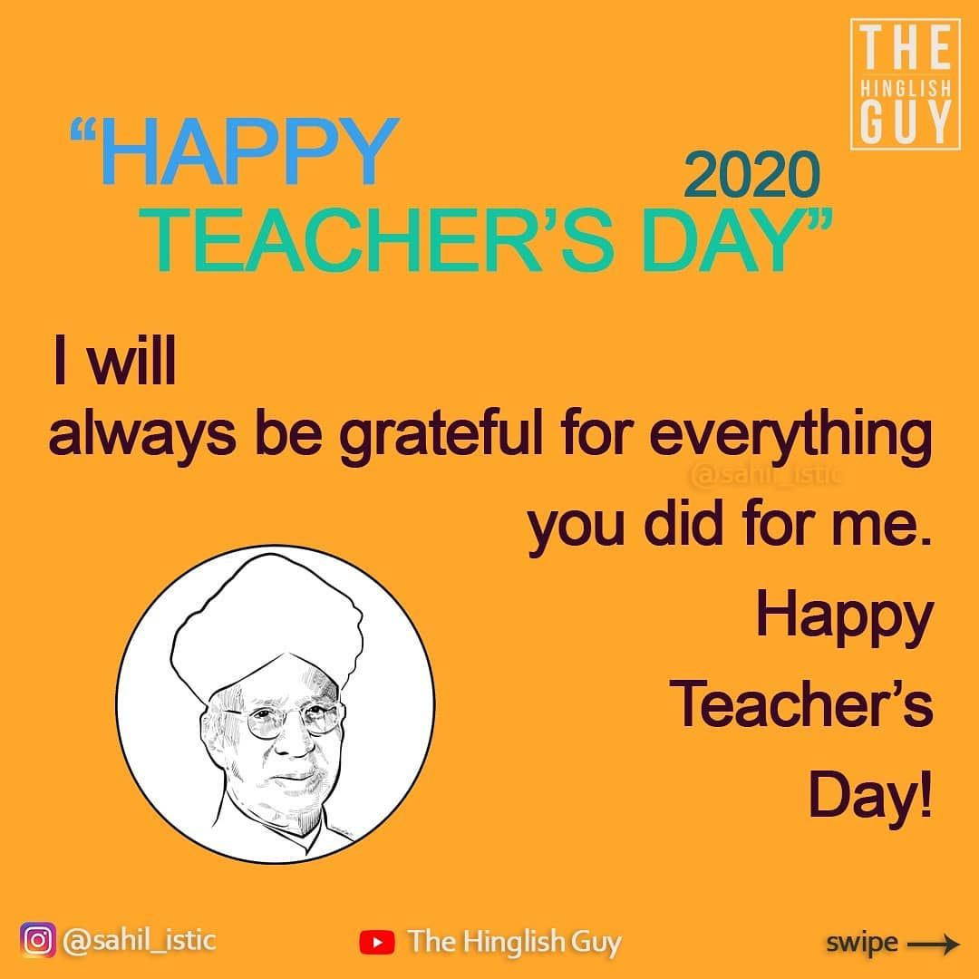 Happy Teacher S Day Wish Your Teachers Make Sure You Follow For More Awes In 2020 Happy Teachers Day Wishes Happy Teachers Day Teachers Day Wishes