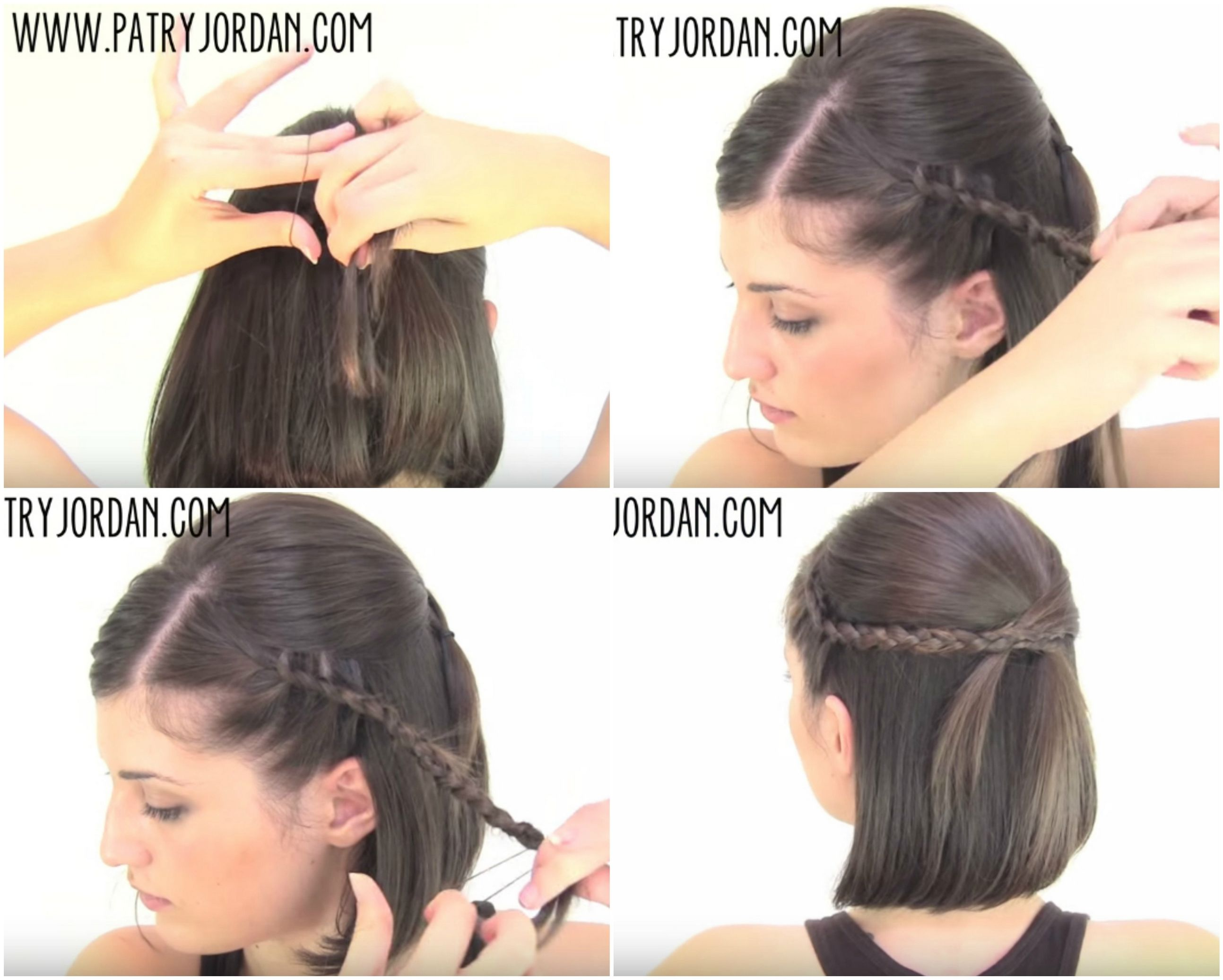Video hair tutorial chic amp sassy easy hairstyles for