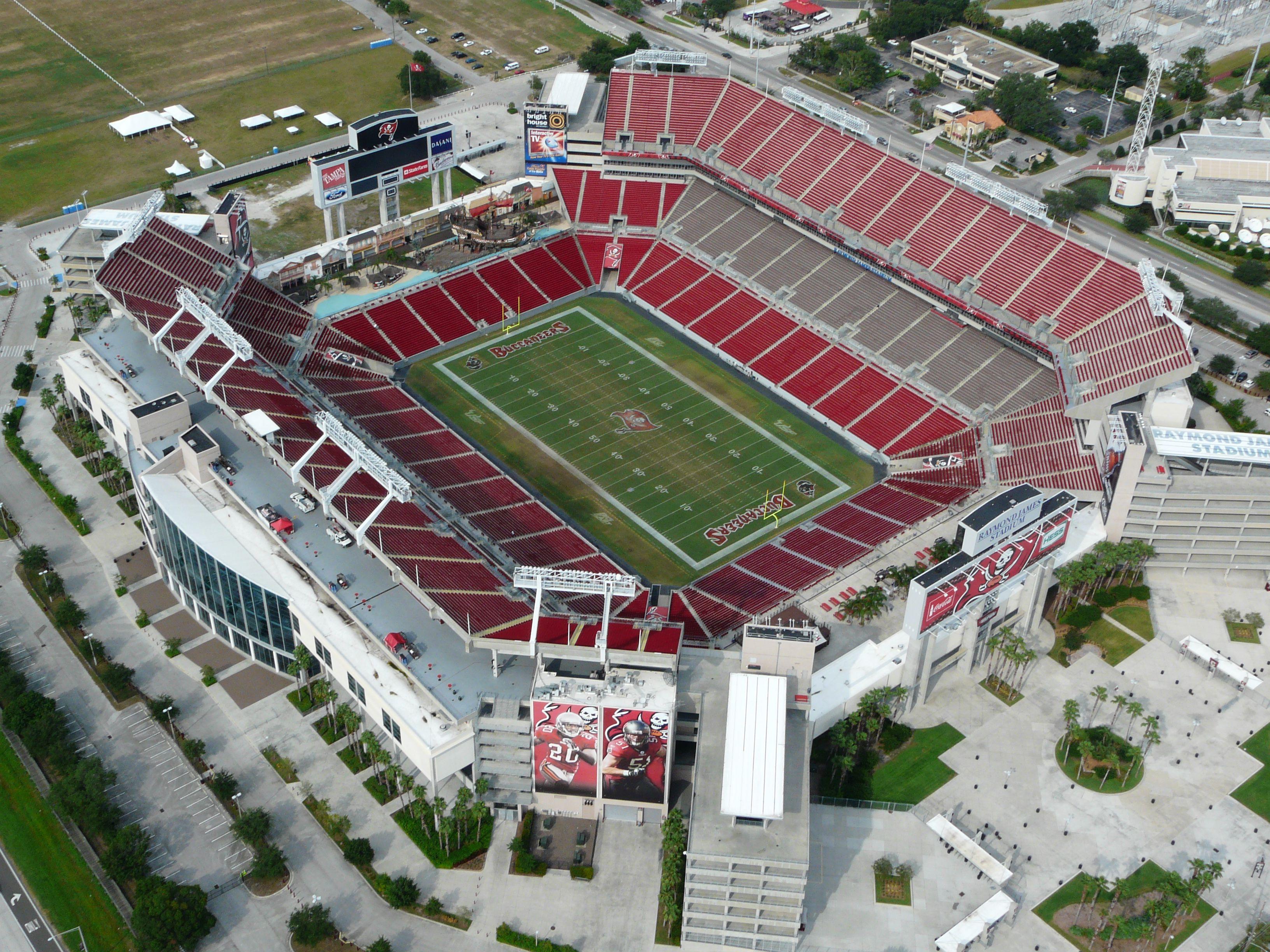 Raymond James Stadium Tampa Tampa Bay Buccaneers One Direction Tickets Buccaneers