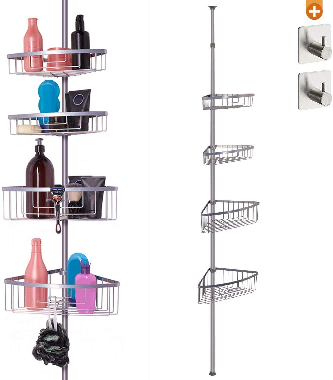 etagere d angle coin de douche