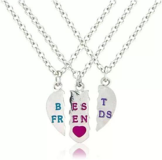 Collar de la amistad para 3