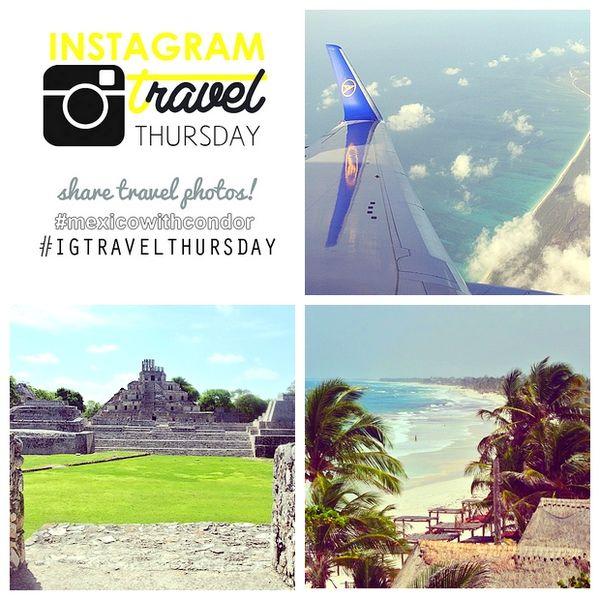 Mein Instagram Travel Thursday am 17. Juli 2014. Es ist jetzt ein Jahr her dass wir Mexikos Halbinsel Yucatan bereist haben. Wir hatten eine aufregende und