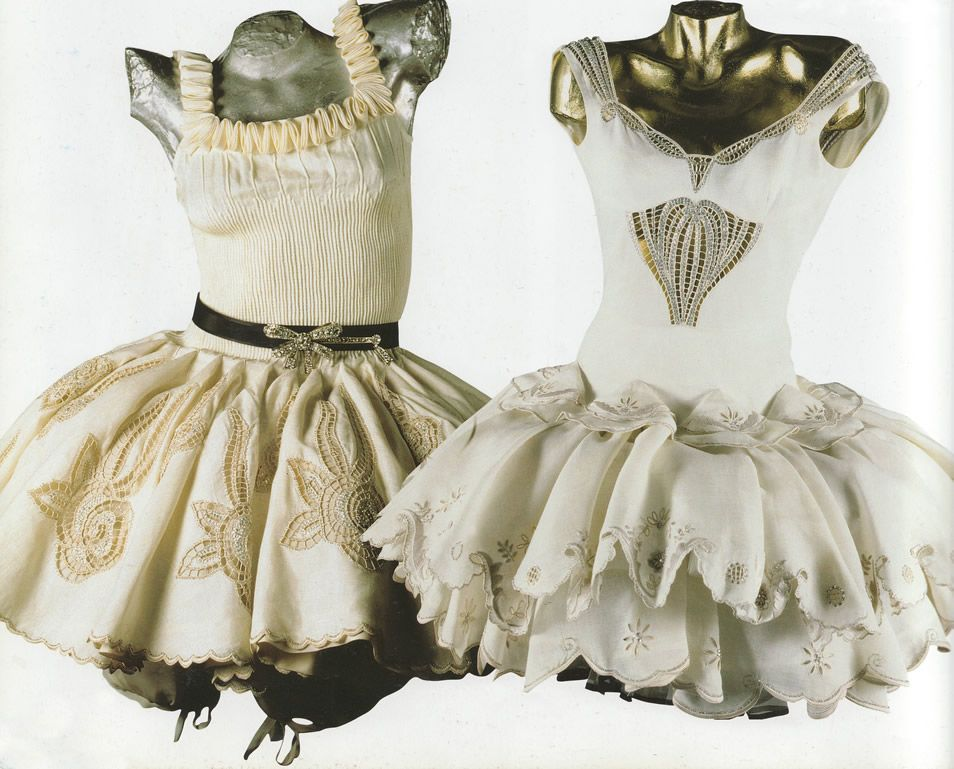 The Art and Craft of Gianni Versace ♢ Dance Costume 1987 ♢ scanned by  Timeless Vintage Threads