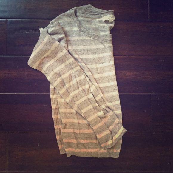 Ann Taylor loft sweater Cute striped sweater Anne Tatlor Loft  Sweaters Crew & Scoop Necks