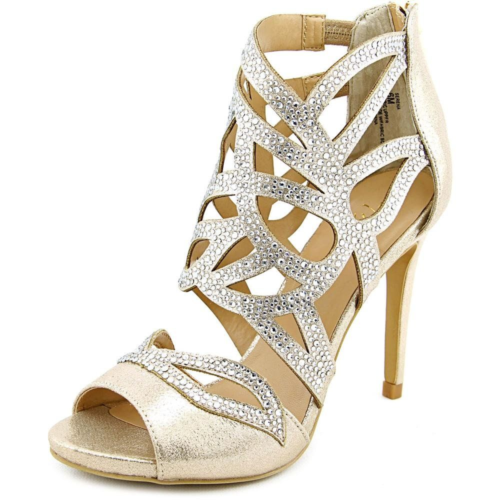 3936f63a0665 Thalia Sodi Serena Women US 9.5 Gold Sandals. The style name is Serena. The  style number is SERENA-CHM. Brand Color  Champagne (Main Color  Gold).