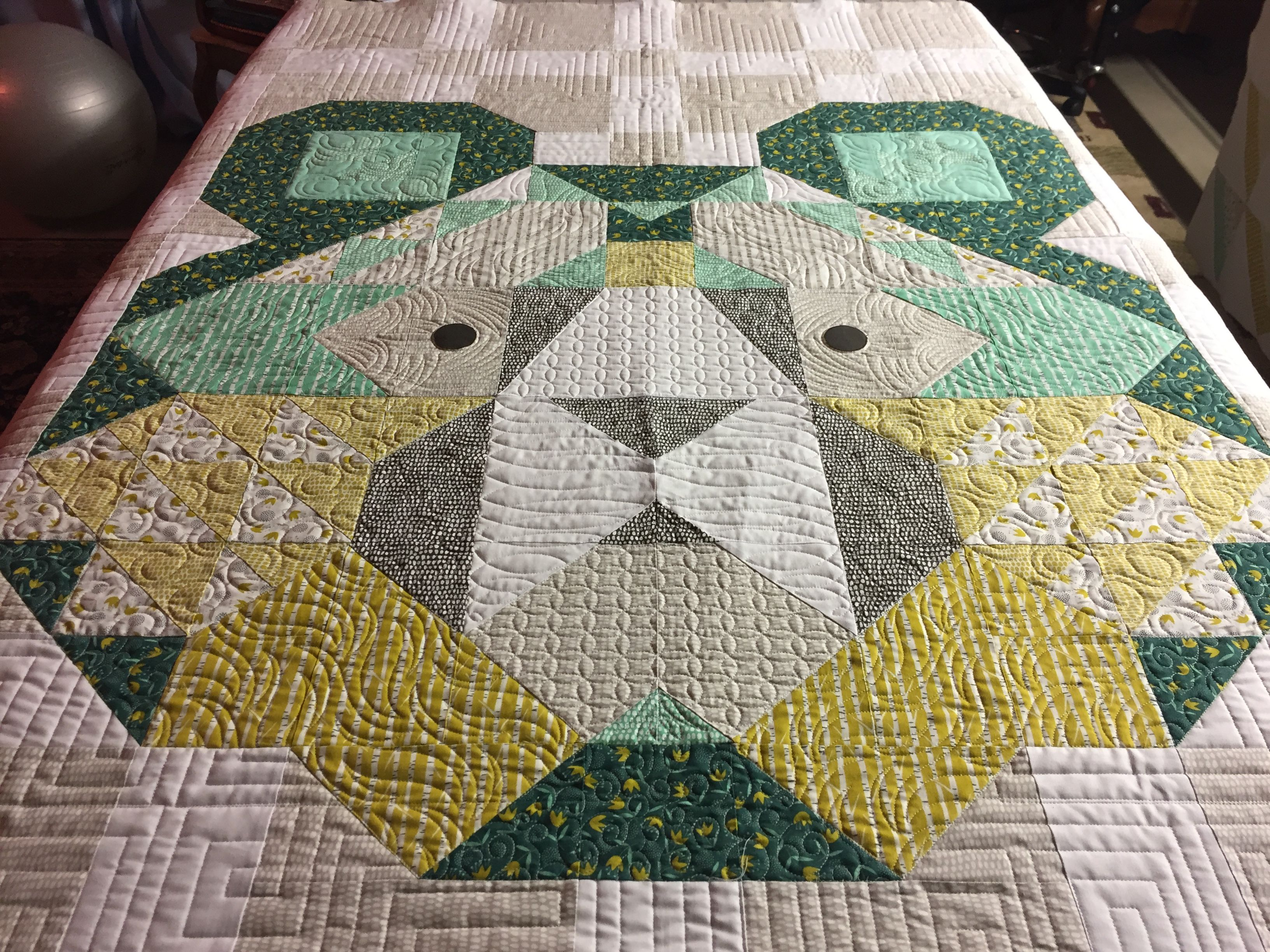 Pattern And Fabric By Annie Brady Big Sky For Moda Custom Quilted By Cool Branch Quiltery Custom Quilts Machine Quilting Quilt Patterns