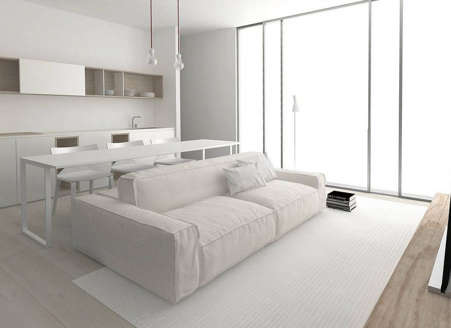 4 planos de apartamentos pequeños con muebles diseñados ...