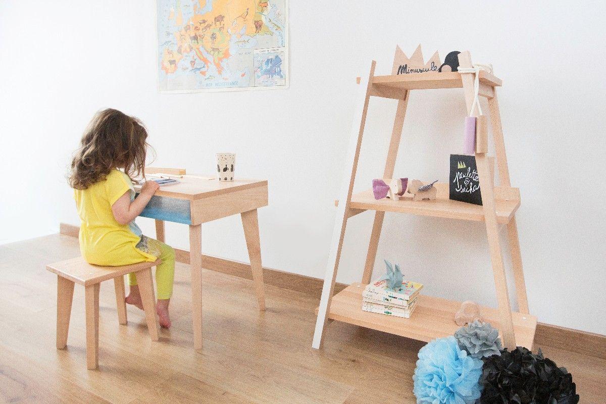 Bureau en bois pour chambre denfant chambre bébé pinterest