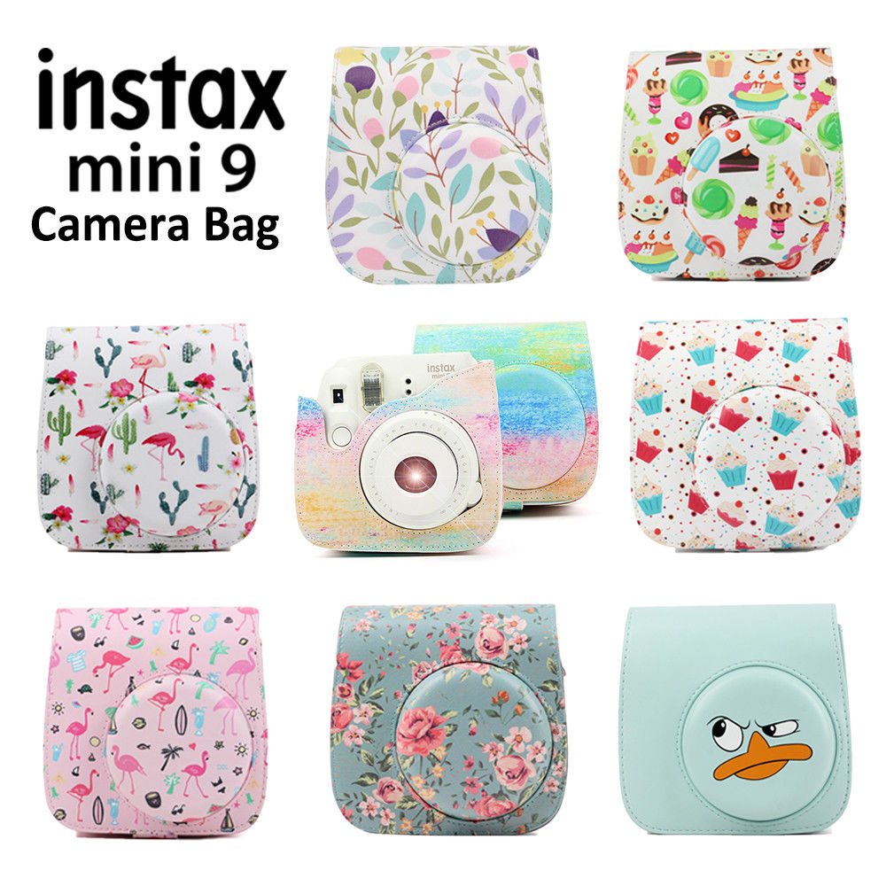 942709a330be  9.99 - For Fujifilm Instax Mini 8 9 Film Instant Camera Carrying Case Bag  Cover Shell  ebay  Electronics
