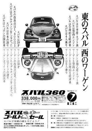 Subaru 360 古い車 レトロ 車 旧車