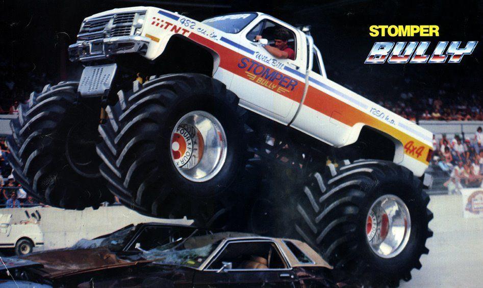 Stomper Bully Monster Trucks Big Monster Trucks Big Trucks