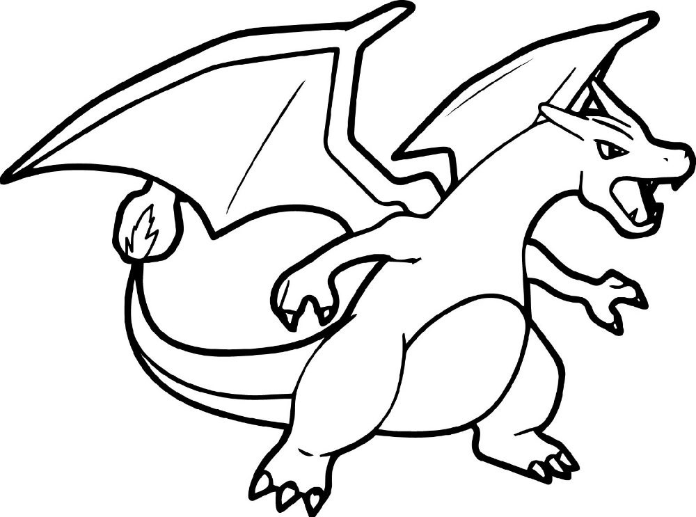 Pokemon Dragon Coloring Sheet Designs Trend