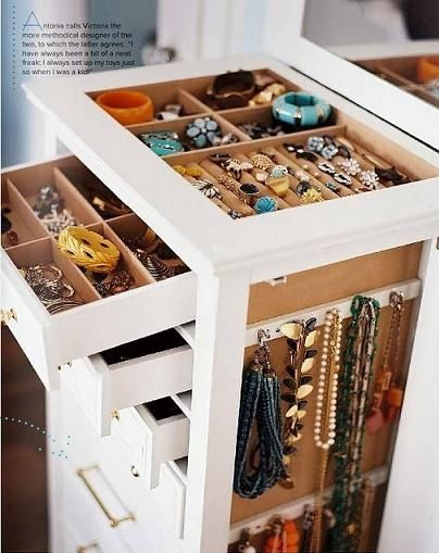Jewelry Storage Ideas Organizing Ideas Helena A Personal Organizer Jewellery Storage Home Storage