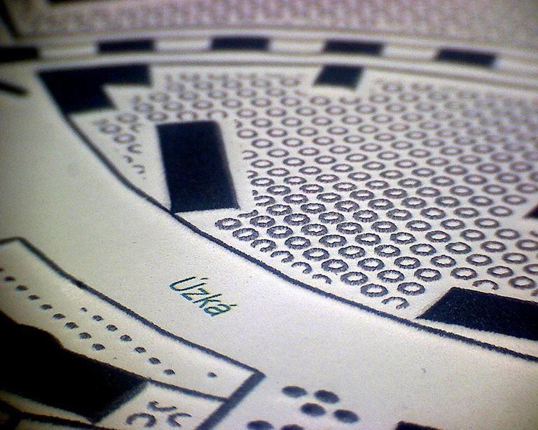 Teiresiás MU - Relief printing on microcapsule paper ...