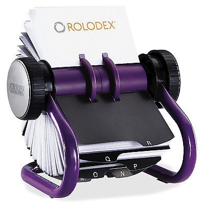 Vintage Metal Rolodex Rotary Large Open Card File 11 X10 From 50s 55 00 Rolodex Card Files Business Card Organizer