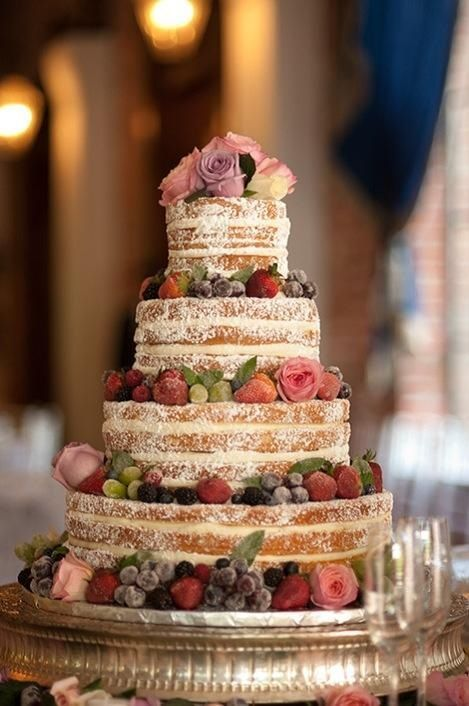 Attractive Barn Weddings · Wedding Cakes Without Frosting ...