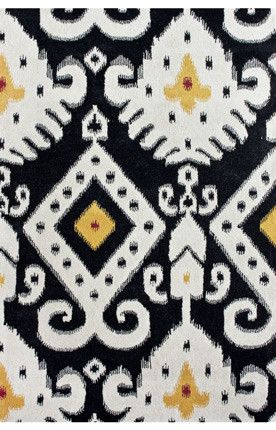 Sierra Antique Ikat Midnight Rug | Traditional Rugs