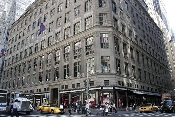 NYC Saks Fifth Avenue