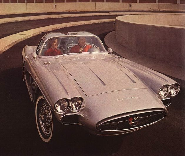 Chevrolet Corvette Xp 700 1958 Chevrolet Corvette 1958 Corvette Concept Cars