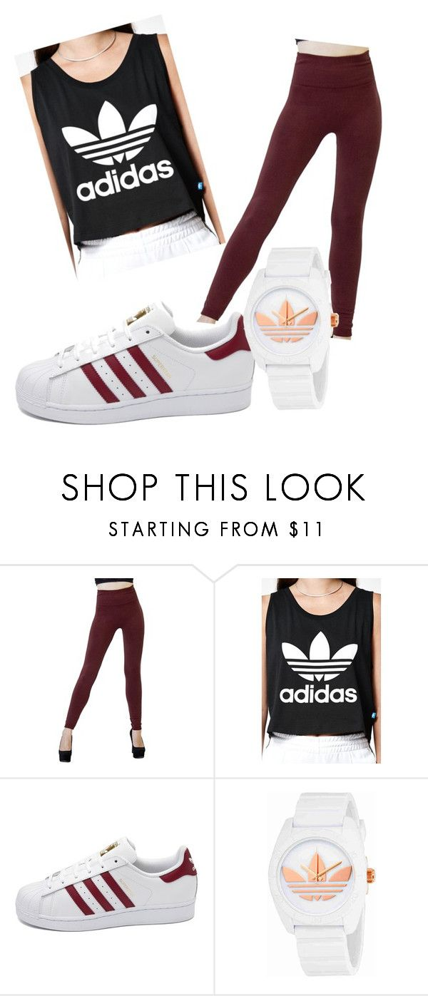 """""""picking Adidas by mistake....not"""" by claudia1256 ❤ liked on Polyvore featuring adidas"""