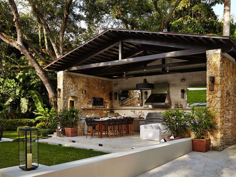 Let\'s Eat Out! 45 Outdoor Kitchen and Patio Design Ideas | Patios ...