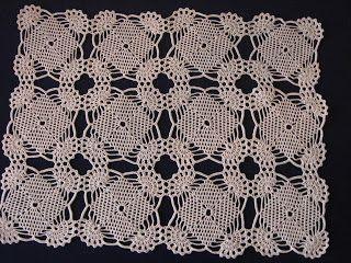 grupo de bordado: crochê com linha merci