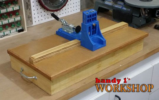 Build A Diy Kreg Jig Storage Base Featuring Handy 1 S Free And
