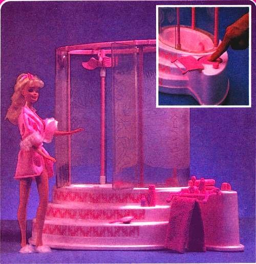 Bagno e Doccia di Barbie | Barbie\'s Crib ❤ ❤ | Pinterest ...