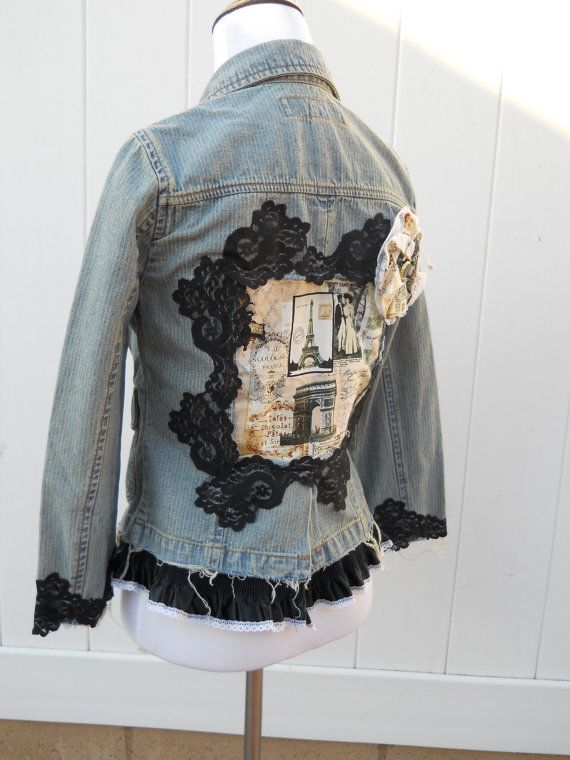 CLEARANCE SALE Ladies XS Denim Jacket, Teens Juniors Medium ...