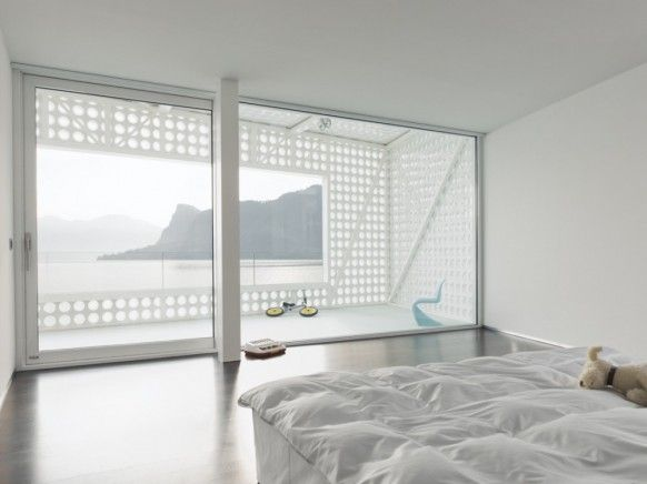 White Bedroom With View
