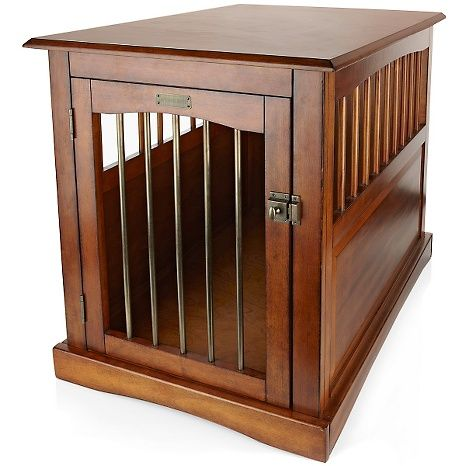 End Table Dog Crate Large At Hsn Com Dog Crate Dog Crate End Table Dog Crate Bed Large dog crate end table