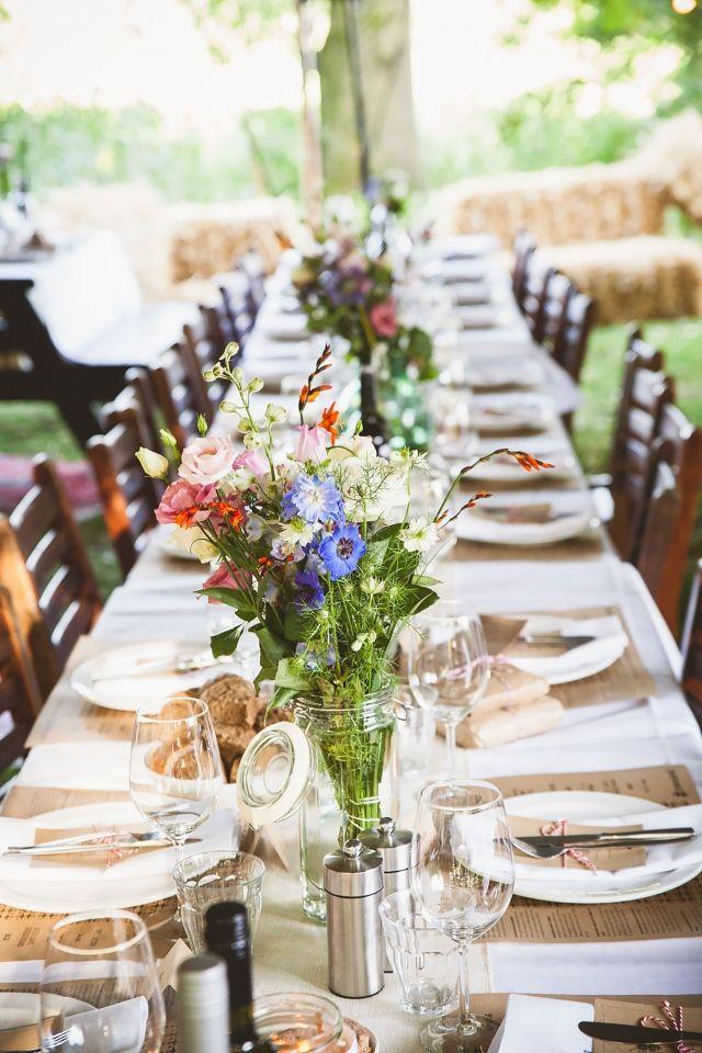 Tafeldecoratie bohemian google zoeken bruiloft bij for Tafeldecoratie huwelijk