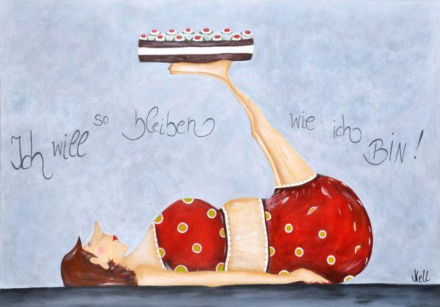 Photo of Akrylbilde selvmalt motiv som PRINT !!! Bildet har størrelsen 100c, x 70c …