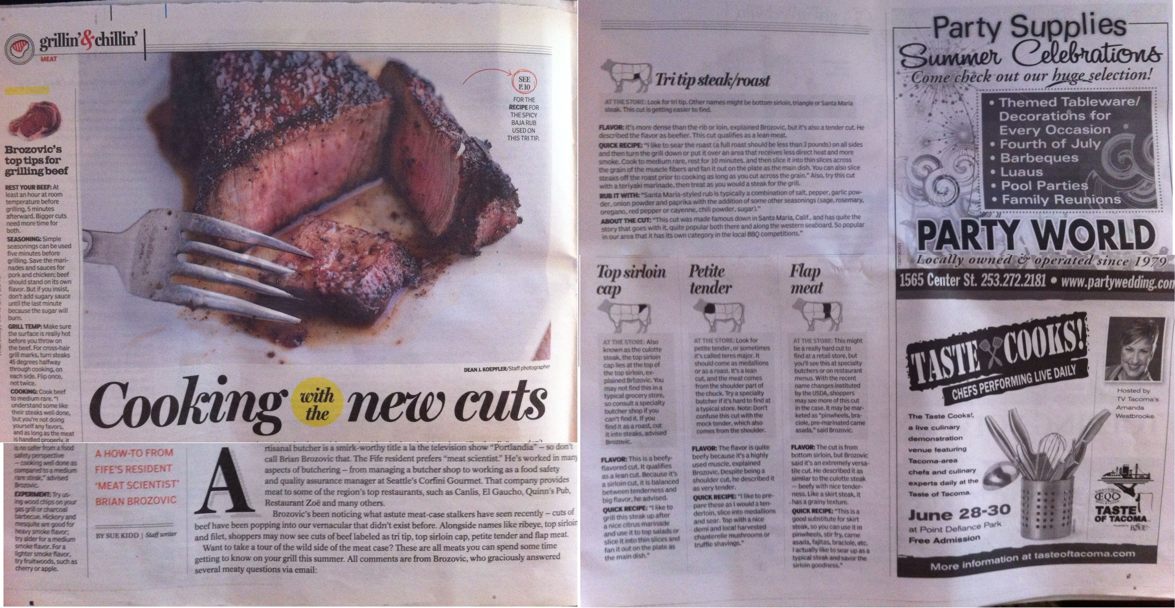 Beef meat article in tacoma news tribune meat pinterest meat beef meat article in tacoma news tribune junglespirit Gallery