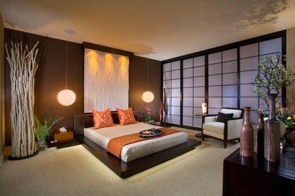 décoration zen japonaise, décor japonais, idée déco japonais
