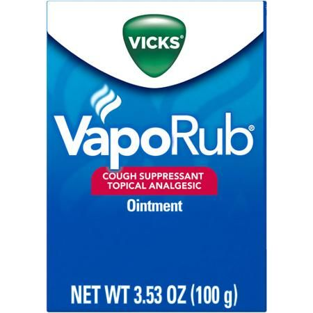 Vicks VapoRub Cough Suppressant Chest Rub Ointment