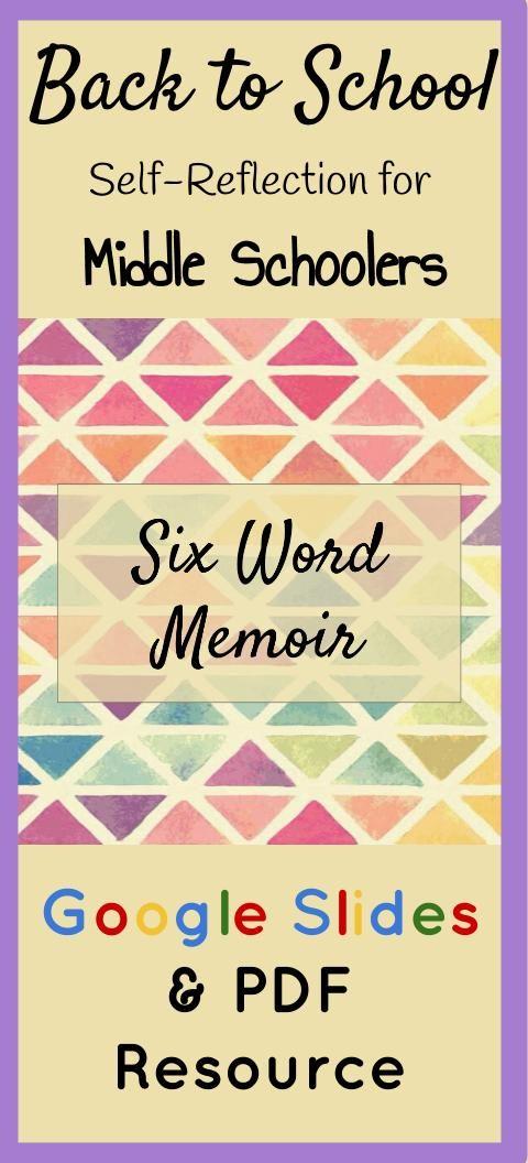 six word memoir pdf and google drive resource  six word