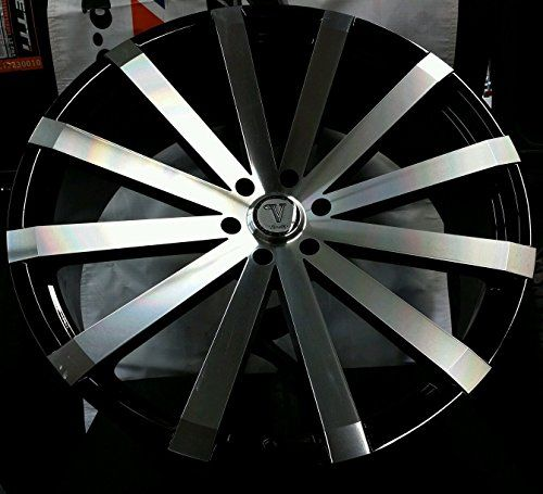 "$$>  28"" INCH VW12 WHEELS RIMS AND TIRE PACKAGE WILL FIT CHEVY GMC INFINITI NISSAN CADILLAC"