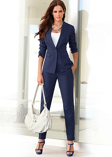Nice pant suit- like the color a lot | Fashion & Style: Fun ...