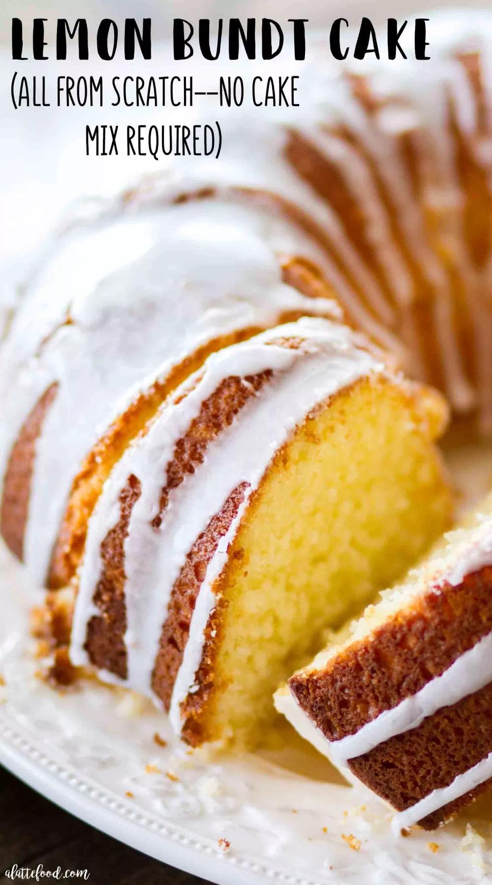 Easy Lemon Bundt Cake Recipe
