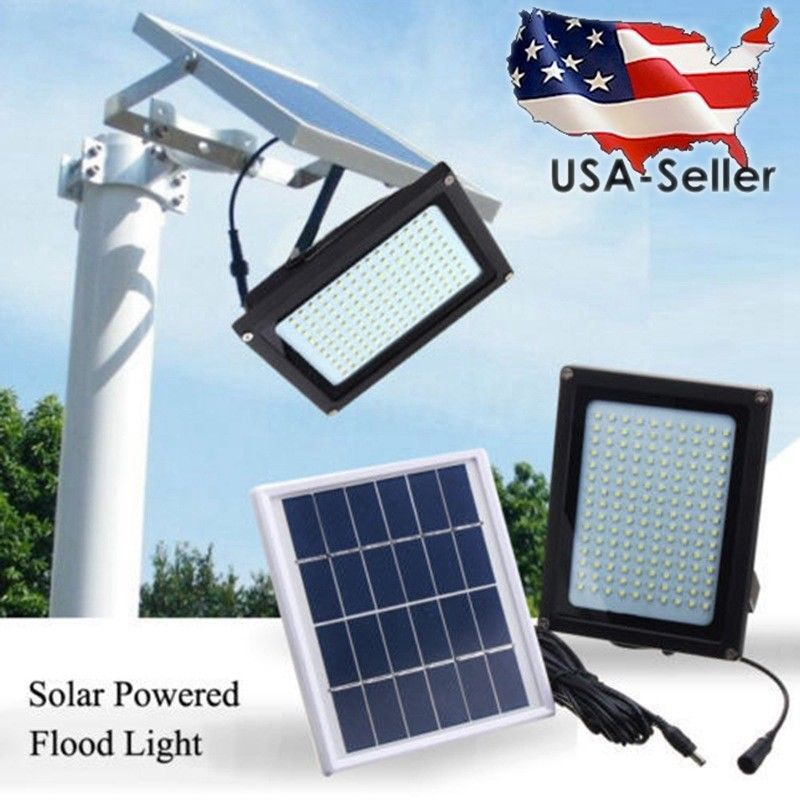 Item Specifics Condition Solar Powered Flood Lights Solar Powered Lights Solar Energy Panels