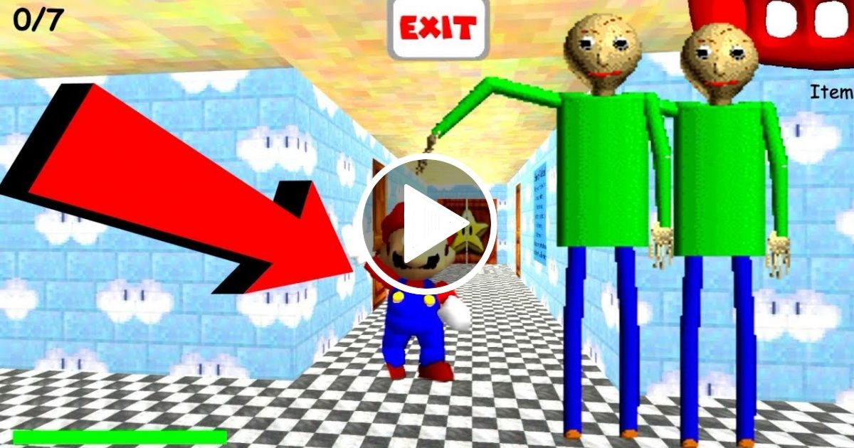 New Gameplay Mario Baldi S Basics 64 In Education And Learning