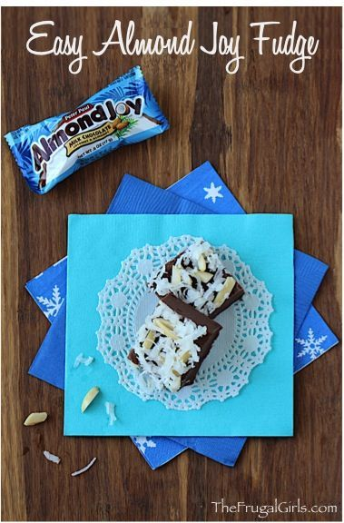 Almond Joy Fudge Recipe | The Frugal Girls | Bloglovin'