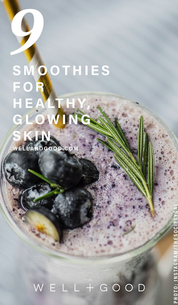 Glowing skin smoothie recipes that actually work & taste good #healthyskin